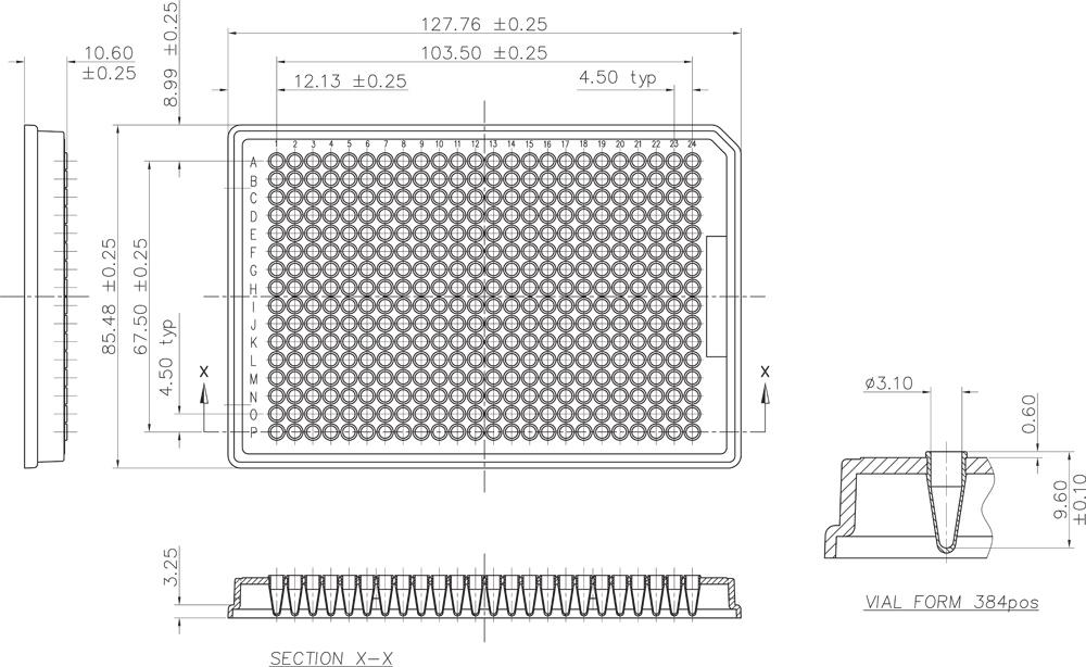 4titude 4ti 0384 framestar 384 well pcr plates biok. Black Bedroom Furniture Sets. Home Design Ideas