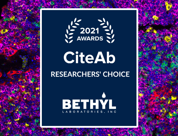 Bethyl wins a CiteAb Award
